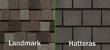 Landmark and Hatteras Shingles